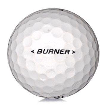 Golfboll av modellen TaylorMade Burner i vit färg