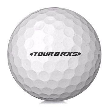 Golfboll av modellen Bridgestone Tour B RXS i vit färg