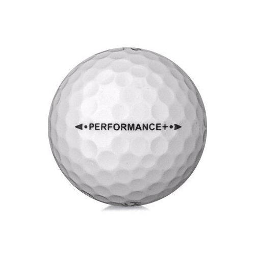 Golfboll av modellen Kirkland Signature Performance + i vit färg
