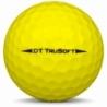 Golfboll av modellen TaylorMade Project (a) i 2019års version med gul färg