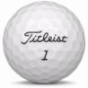 Golfboll av modellen Titleist DT Solo i gul färg