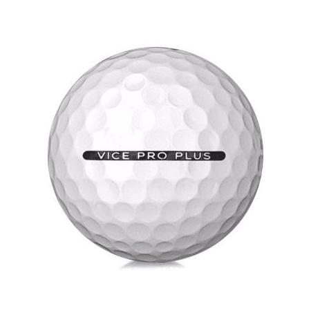 Golfboll av modellen Vice Pro Plus i vit färg