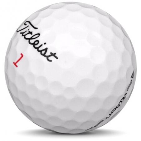 Golfboll av modellen Callaway Supersoft i 2018års version med färg