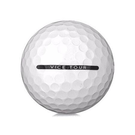 Golfboll av modellen Vice Tour i vit färg