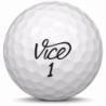Golfboll av modellen Callaway Diablo Tour i vit färg