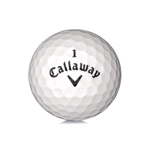 Golfboll av modellen Callaway Tour Mix i vit färg