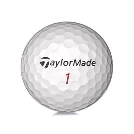 Golfboll av modellen TaylorMade Tour Mix i vit färg