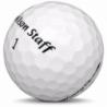 Golfboll av modellen Callaway Chrome Soft 2018års version med vit färg