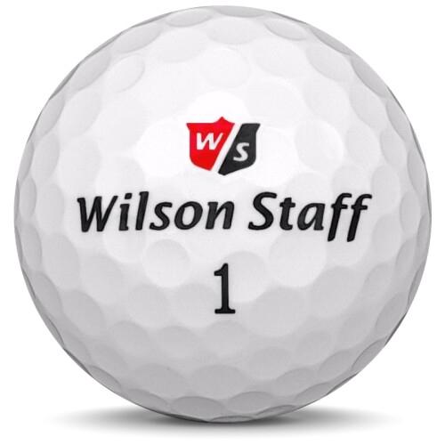 Golfboll av modellen Wilson Staff Mix i vit färg