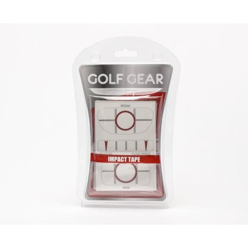 Impact tejp som man fäster under golfklubban