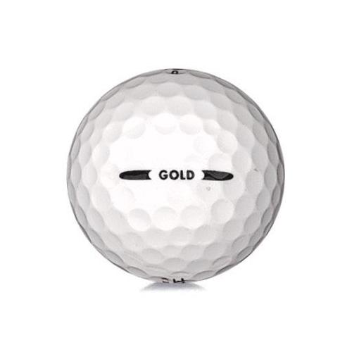 Golfboll av modellen Pinnacle Gold i vit färg