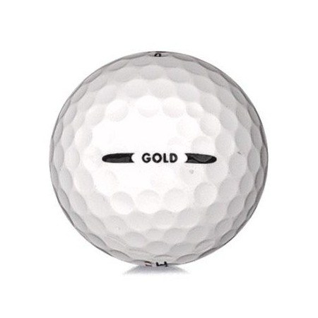 Golfboll av modellen Pinnacle Gold i vit färg
