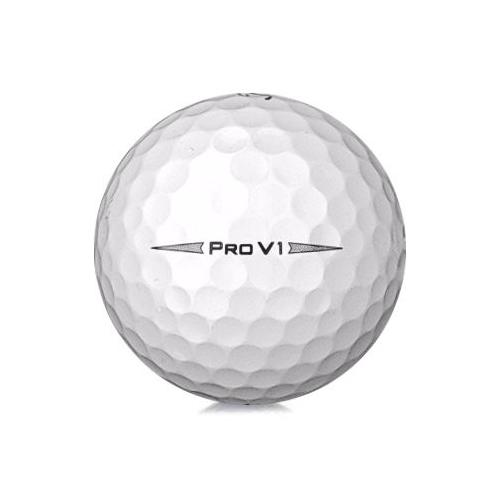 Golfboll av modellen Titleist Pro V1 i 2019års version med vit färg