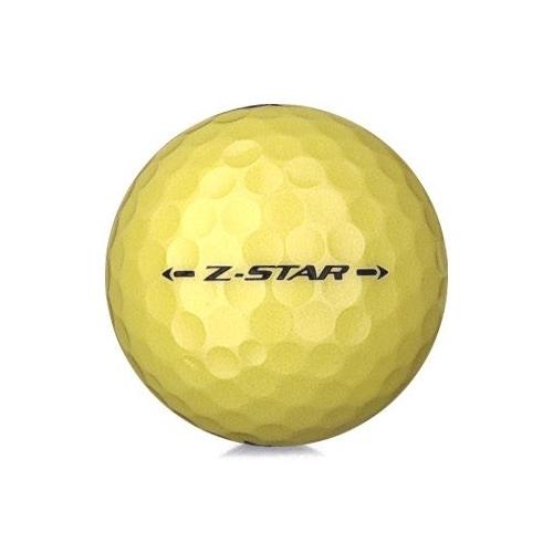 Golfboll av modellen Srixon Z-Star 2019 års version med gul färg