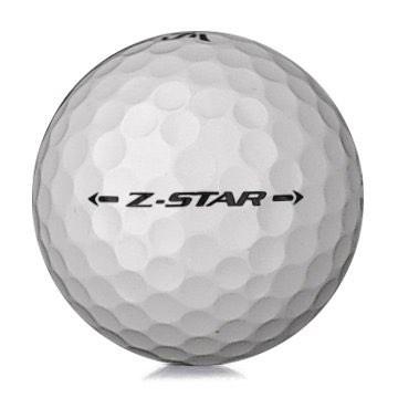Golfboll av modellen Srixon Z-Star 2019 års version med vit färg