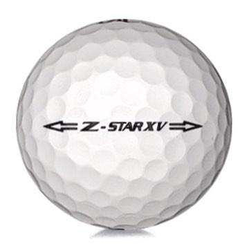 Golfboll av modellen Srixon Z-Star XV 2017 års version med vit färg