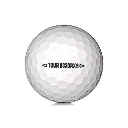 Golfboll av modellen Bridgestone B330 RXS i 2019års varsion med vit färg