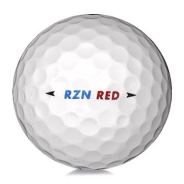 Golfboll av modellen Nike RZN Red i vit färg