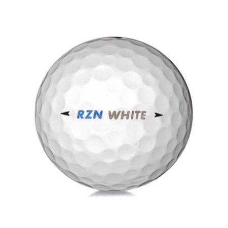 Golfboll av modellen Nike RZN White i vit färg