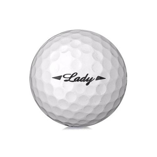 Golfboll av modellen Bridgestone Lady i vit färg