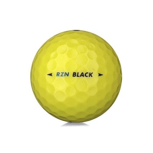 Golfboll av modellen Nike RZN Black i gul färg