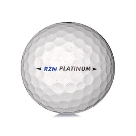 Golfboll av modellen Nike RZN Platinum i vit färg