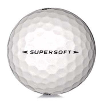 Golfboll av modellen Callaway Supersoft i vit färg