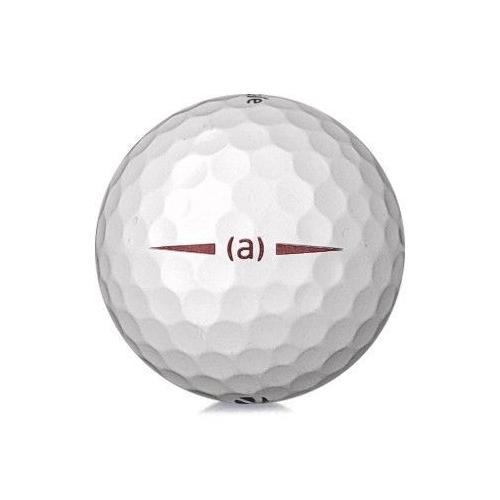 Golfboll av modellen TaylorMade Project (a) i 2019års version med vit färg