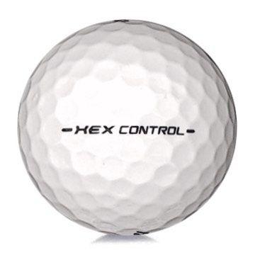Golfboll av modellen Callaway Hex Control i vit färg