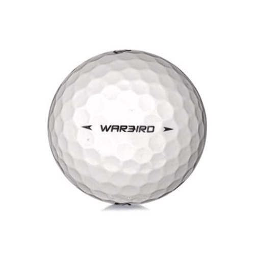 Golfboll av modellen Callaway Warbird i vit färg
