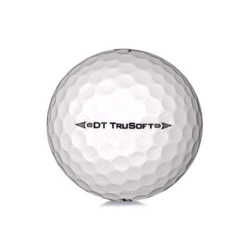 Golfboll av modellen Titleist DT Trusoft i vit färg