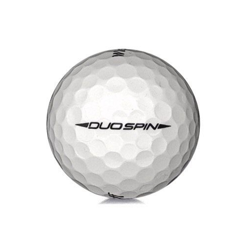 Golfboll av modellen Wilson Staff Duo Spin i vit färg