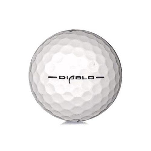Golfboll av modellen Callaway Hex Diablo i vit färg