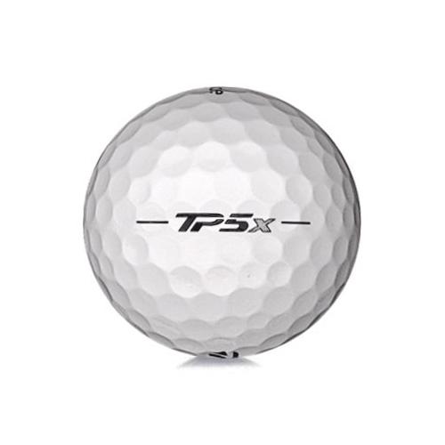 Golfboll av modellen TaylorMade TP5x i vit färg