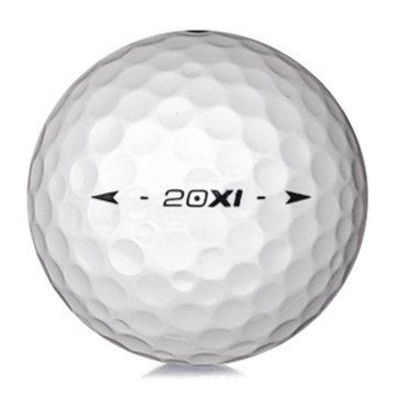 Golfboll av modellen Nike 20 XI i vit färg