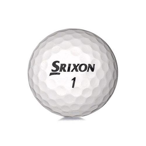 Golfboll av modellen Srixon Mix i vit färg