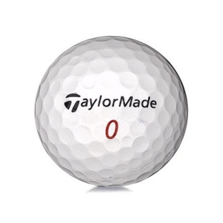 Golfboll av modellen TaylorMade Mix i vit färg