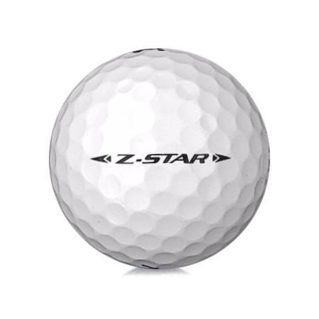Golfboll av modellen Srixon Z-Star 2020 års version med vit färg