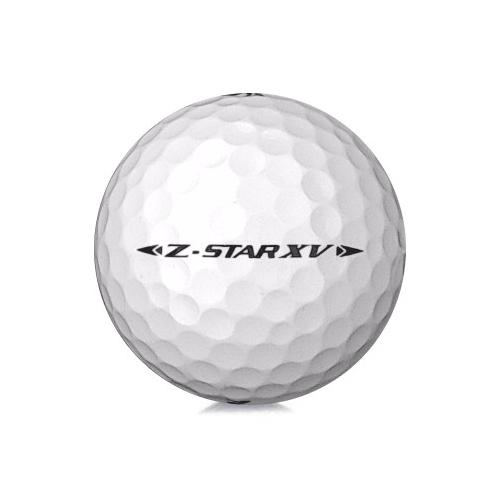 Golfboll av modellen Srixon Z-Star XV 2020 års version med vit färg