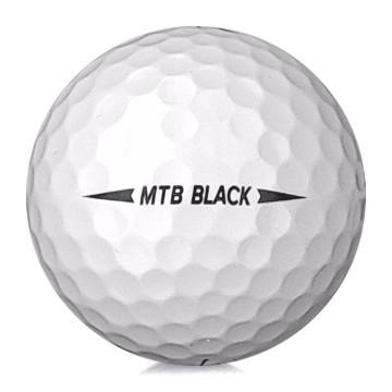 Golfboll av modellen Snell MTB Black i vit färg