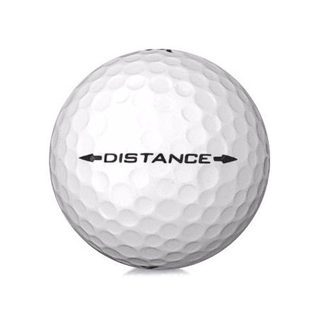 Golfboll av modellen Srixon Distance i vit färg
