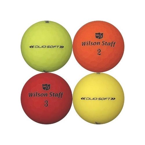 Golfboll av modellen Wilson Staff Duo Soft i olika färger