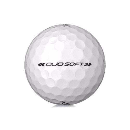 Golfboll av modellen Wilson Staff Duo Soft i vit färg