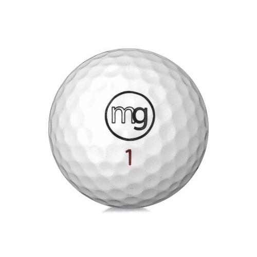 Golfboll av modellen MG 4C i vit färg