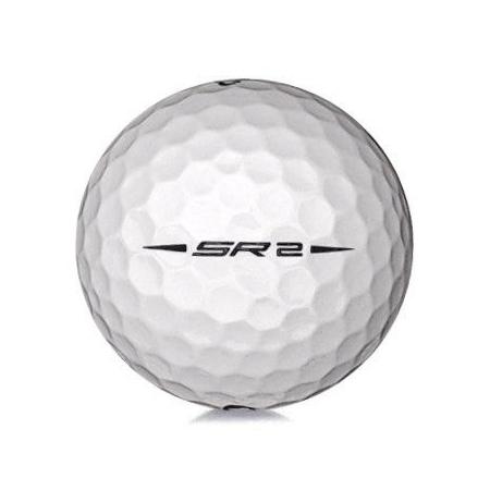 Golfboll av modellen Callaway Speed Regime 2 i vit färg
