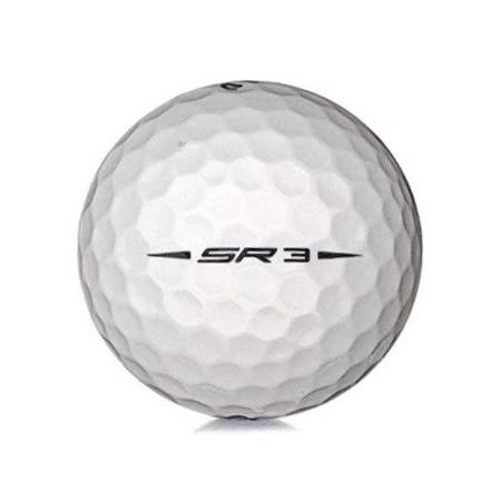 Golfboll av modellen Callaway Speed Regime 3 i vit färg