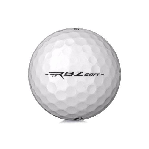 Golfboll av modellen TaylorMade RBZ Soft med vit färg