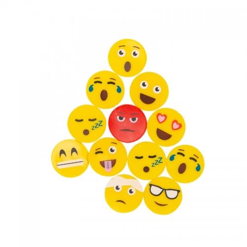 25 pack smiley bollmarkörer