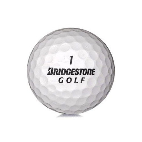 Golfboll av modellen Bridgestone Mix i vit färg