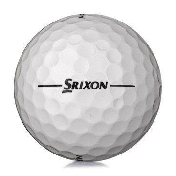 Golfboll av modellen Srixon Marathon i 2018års version med vit färg